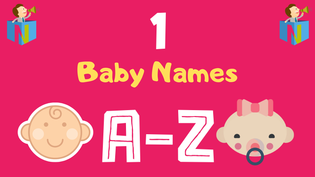 Baby Names for Numerology Number 1 - NamesLook