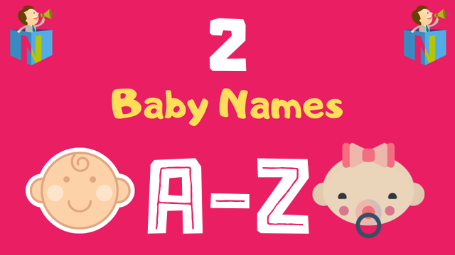 Baby Names for Numerology Number 2 - NamesLook