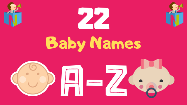 Baby Names for Numerology Number 22 - NamesLook