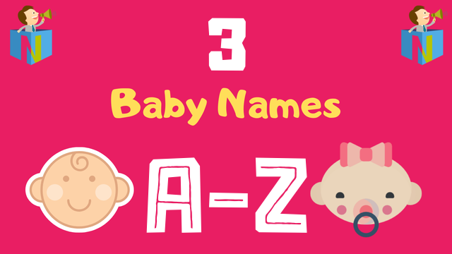Baby Names for Numerology Number 3 - NamesLook