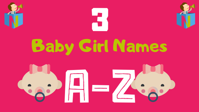 Baby Girl Names for Numerology Number 3 - NamesLook