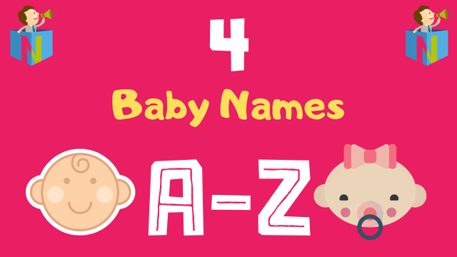 Baby Names for Numerology Number 4 - NamesLook