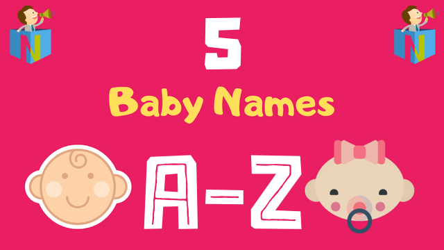 Baby Names for Numerology Number 5 - NamesLook