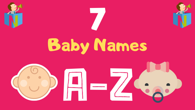 Baby Names for Numerology Number 7 - NamesLook