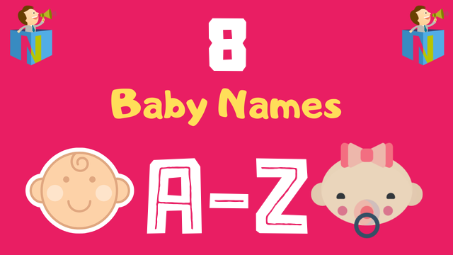 Baby Names for Numerology Number 8 - NamesLook