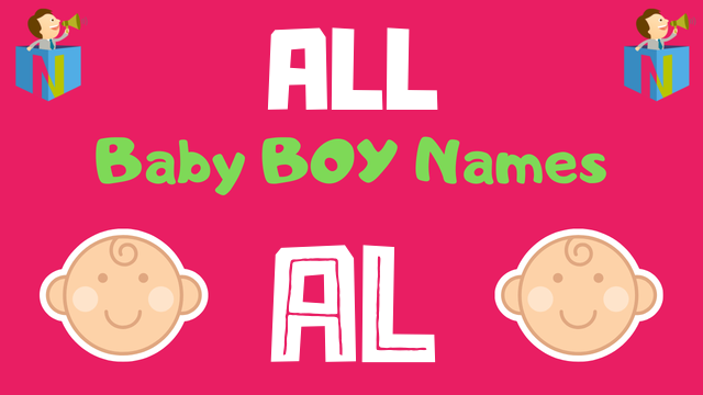 Baby Boy names starting with 'Al' - NamesLook