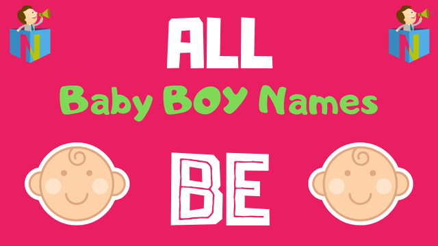 Baby Boy names starting with 'Be' - NamesLook