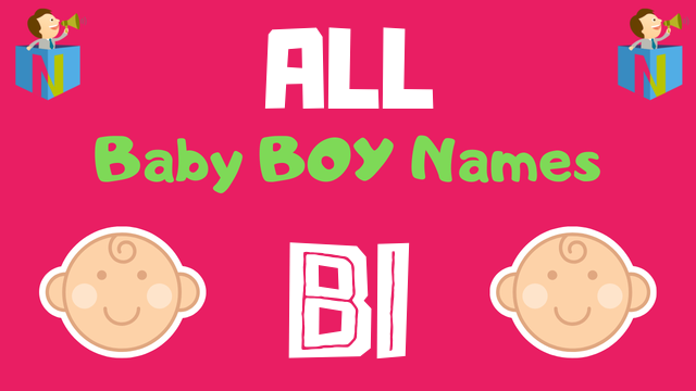 Baby Boy names starting with 'Bi' - NamesLook