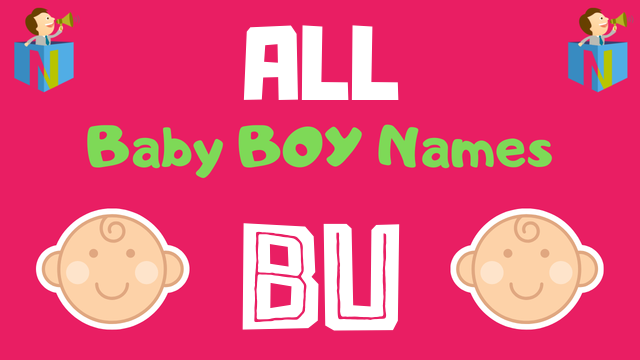 Baby Boy names starting with 'Bu' - NamesLook