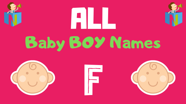 Baby Boy names starting with F - NamesLook