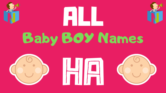 Baby Boy names starting with Ha - NamesLook