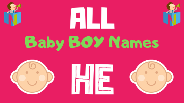 Baby Boy names starting with 'He' - NamesLook