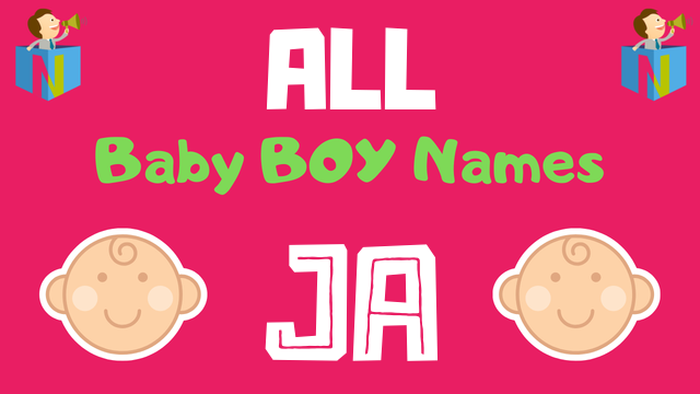 Baby Boy names starting with Ja - NamesLook