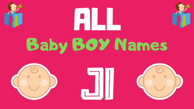 Baby Boy names starting with Ji - NamesLook