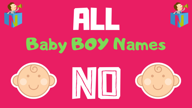 Baby Boy names starting with 'No' - NamesLook