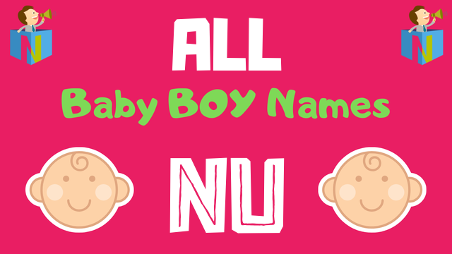 Baby Boy names starting with Nu - NamesLook