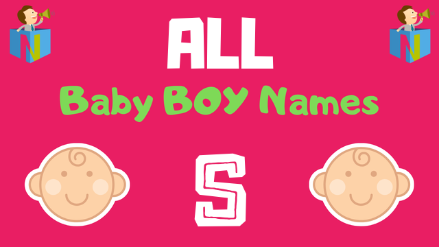 Baby Boy names starting with 'S' - NamesLook