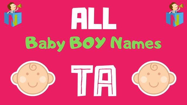 Baby Boy names starting with Ta - NamesLook