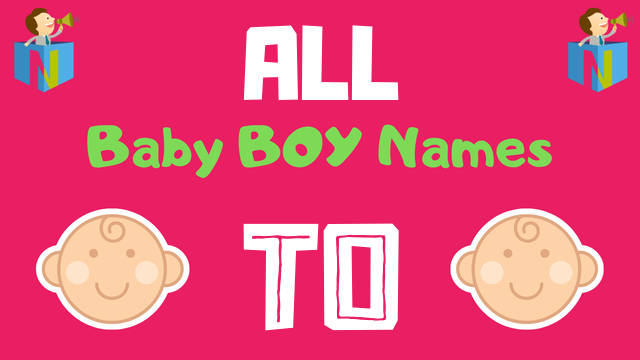 Baby Boy names starting with To - NamesLook