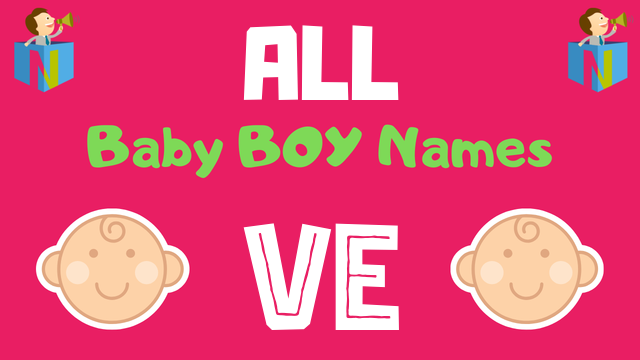 Baby Boy names starting with Ve - NamesLook