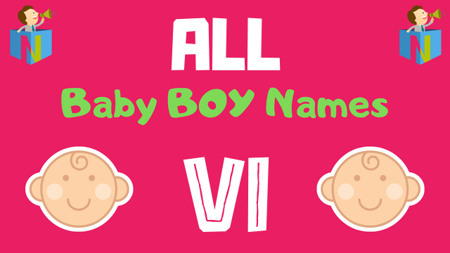 Baby Boy names starting with Vi - NamesLook