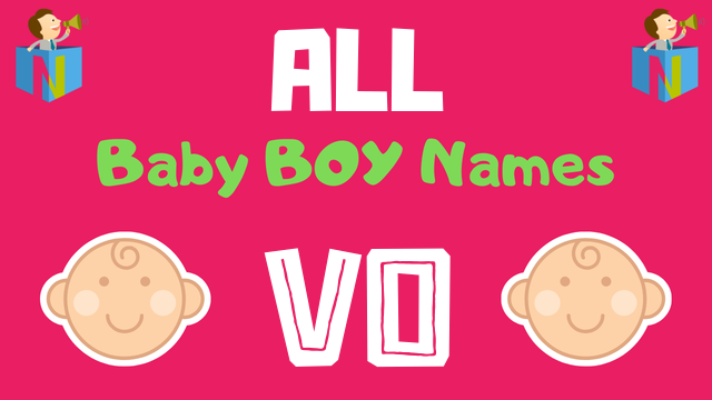 Baby Boy names starting with 'Vo' - NamesLook