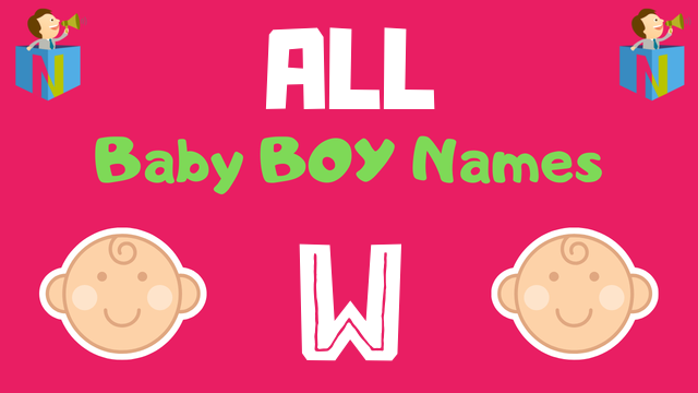 Baby Boy names starting with W - NamesLook