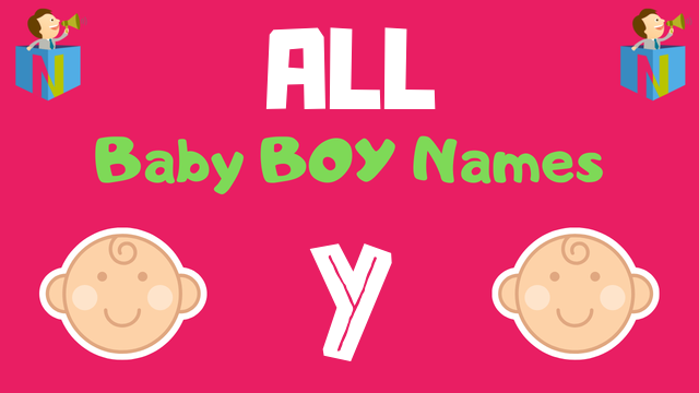 Baby Boy names starting with Y - NamesLook