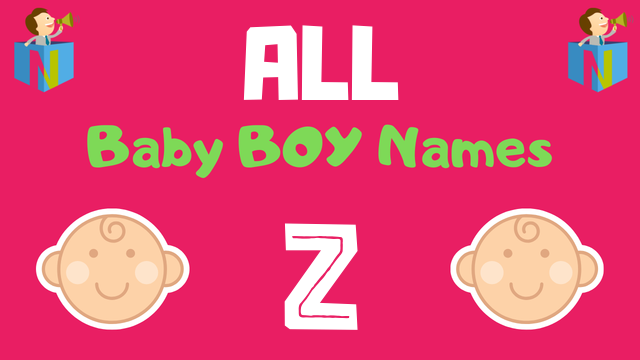Baby Boy names starting with Z - NamesLook
