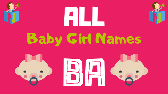 Baby Girl names starting with Ba - NamesLook