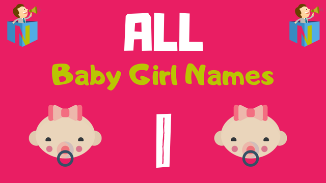 Baby Girl names starting with I - NamesLook