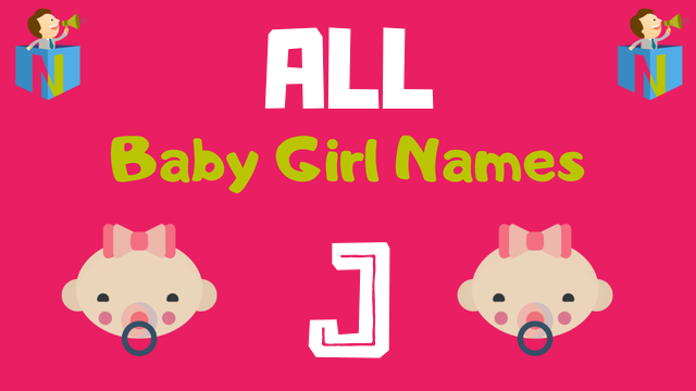 Baby Girl names starting with J - NamesLook