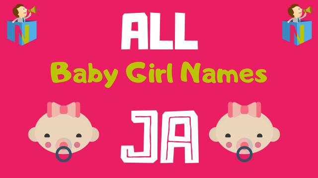 Baby Girl names starting with Ja - NamesLook