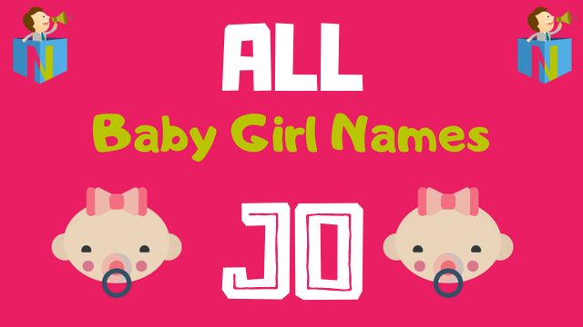 Baby Girl names starting with Jo - NamesLook