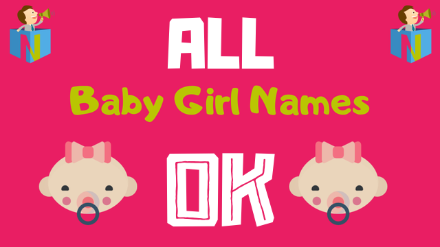 Baby Girl names starting with Ok - NamesLook