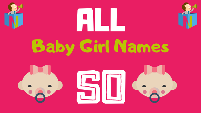 Baby Girl names starting with 'So' - NamesLook