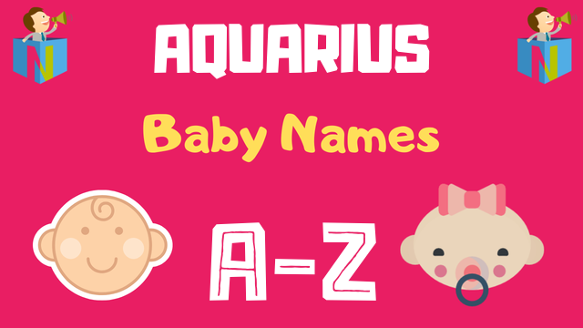 Baby Names for Aquarius Zodiac - NamesLook