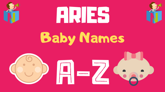 Baby Names for Aries Zodiac - NamesLook