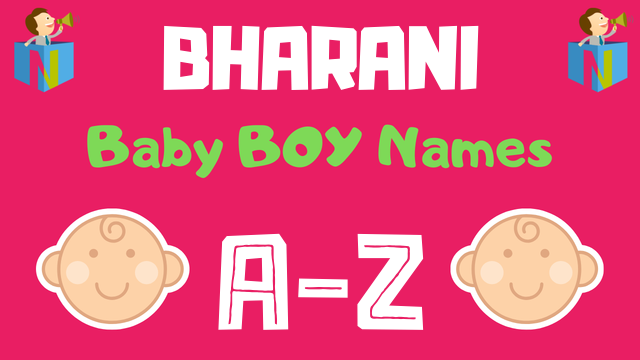 Baby Boy Names for Bharani Nakshatra - NamesLook