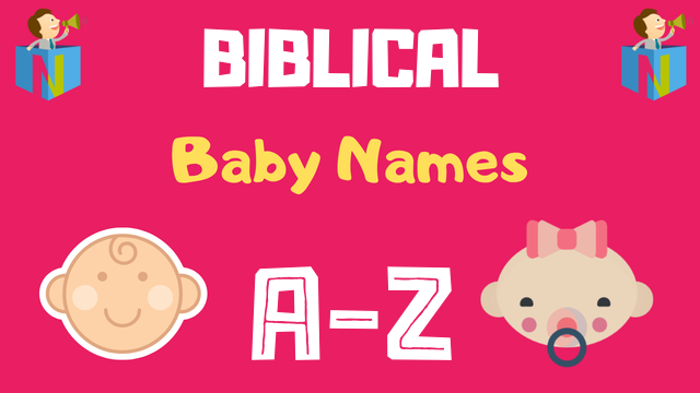 Biblical Baby Names | 200+ Names Available - NamesLook