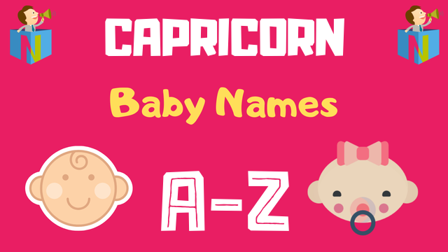 Baby Names for Capricorn Zodiac - NamesLook