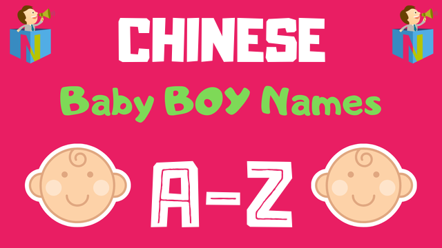 Chinese Baby Boy Names | 1000+ Names Available - NamesLook