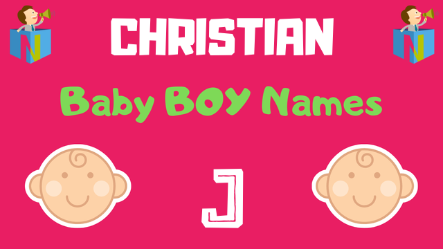 24++ Boy names with j christian ideas in 2021