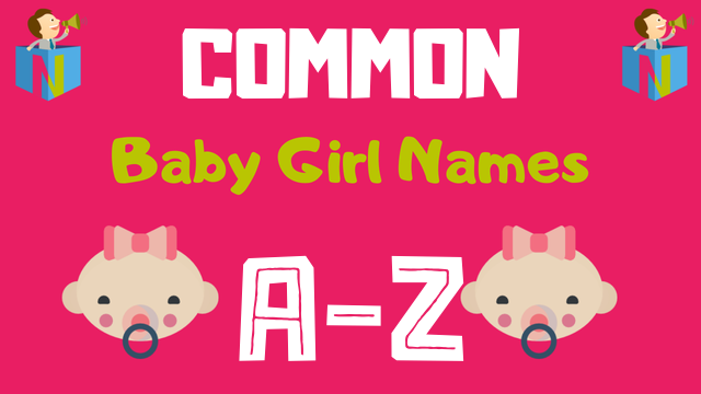 Common Baby Girl Names | 1 Names Available - NamesLook