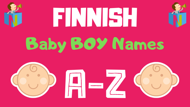 Finnish Baby Boy Names | 600+ Names Available - NamesLook