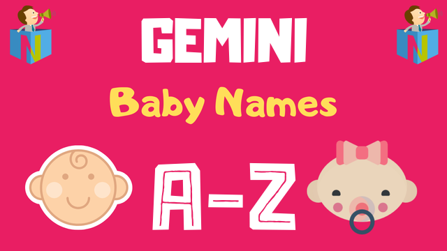 Baby Names for Gemini Zodiac - NamesLook