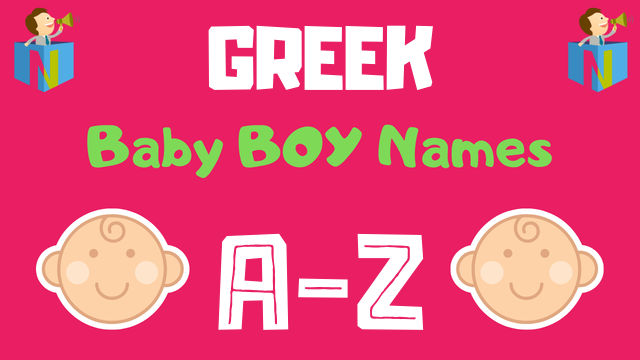 Greek Baby Boy Names | 1000+ Names Available - NamesLook