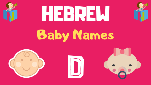 Hebrew Baby names starting with D - NamesLook