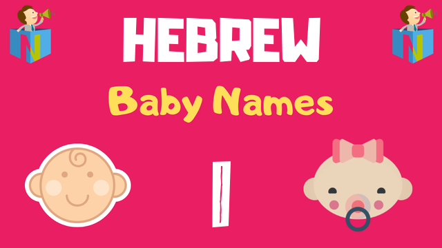 Hebrew Baby names starting with I - NamesLook