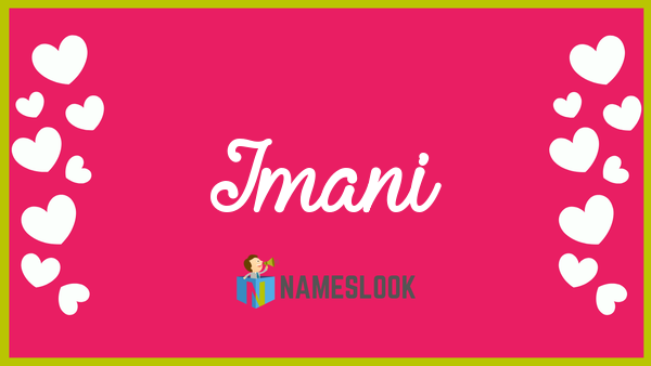 26+ Meaning of imani ideas in 2021